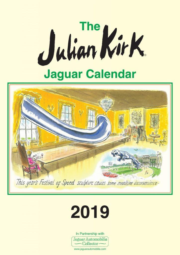 Julian Kirk 2019 Jaguar Calendar
