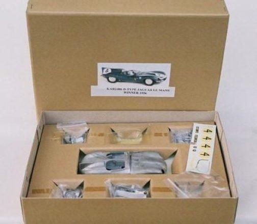 D-Type Jaguar 1955 Le Mans Winner 1//24th Scale whitemetal Kit PAR K /& R replicas