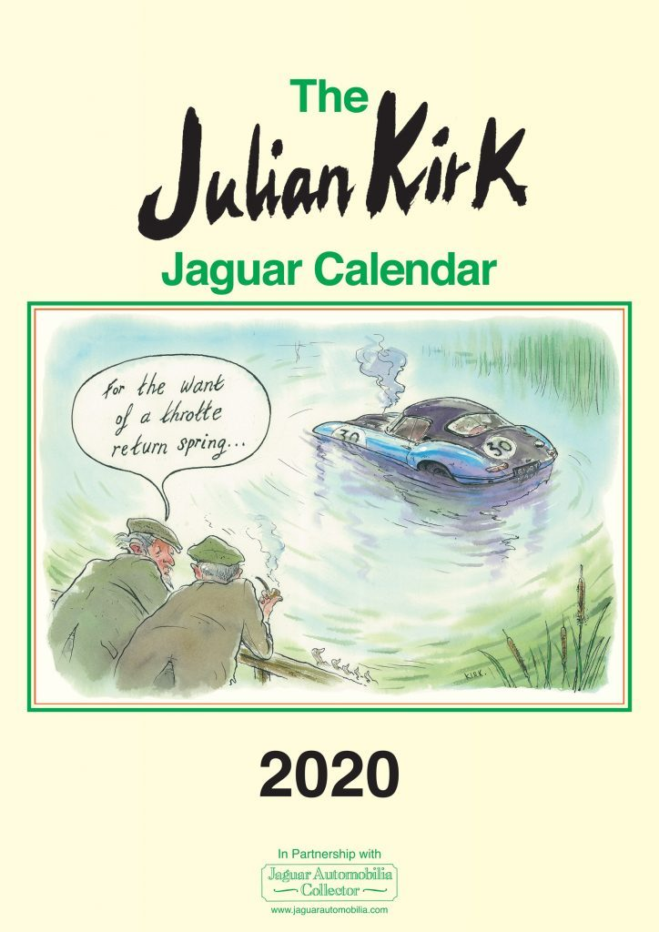 Julian Kirk 2020 Jaguar Calendar